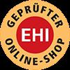 EHI Geprufter Online-Shop zertifiziert