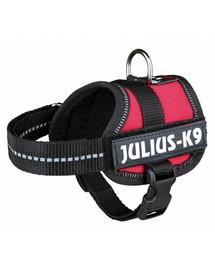 TRIXIE Julius-K9®-Geschirr, Mini-Mini/S: 40-53 cm/22 mm, rot