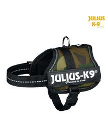 TRIXIE Julius-K9®-Geschirr, 0/M-L: 58-76 cm/40 mm, Tarnfarbe