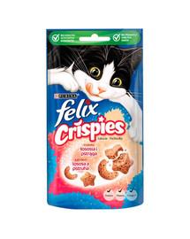 FELIX Crispies mit Lachs- & Forellengeschmack 8x45 g