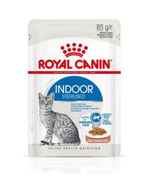 Royal Canin INDOOR Sterilised in Soße 12 x 85 g Beutel