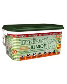 Tropidog junior Small Breeds Lamb,Salmon & Eggs 3l / 1.1 kg