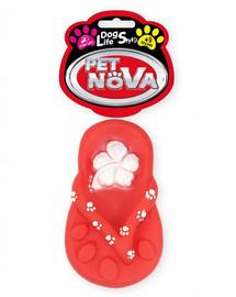 "PET NOVA DOG LIFE STYLE Kauspielzeug ""Flip-Flop"" 15cm rot"