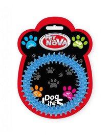 PET NOVA DOG LIFE STYLE Kauspielzeug Ringo Dental Minze Aroma 12,5cm Blau