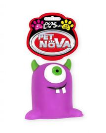 PET NOVA DOG LIFE STYLE Spielzeugmonster 10cm violett