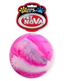 PET NOVA DOG LIFE STYLE Kauspielzeug Ball schwimmend Vanille Aroma 8cm