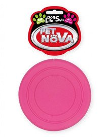 PET NOVA DOG LIFE STYLE Frisbee 18cm Minze Aroma rosa