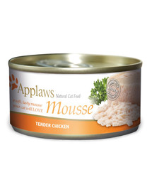 APPLAWS Adult Tin Mousse 70g