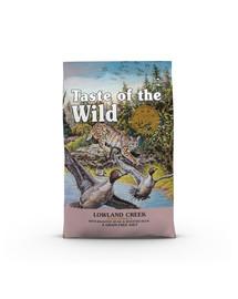 TASTE OF THE WILD Lowland Creek 6,6 kg Gebackene Wachtel und Ente