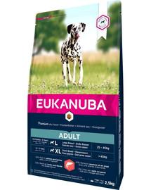 EUKANUBA Adult All Breeds Salmon 2.5 kg