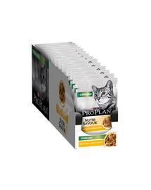 PURINA PRO PLAN Sterilised Nutrisavour Huhn Katzen-Nassfutter 85 g x 26
