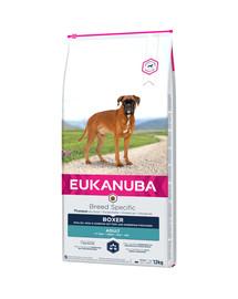 EUKANUBA Adult Breeds Specific Trockenfutter für Boxer  12 kg