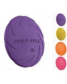 TRIXIE Dog Disc, Naturgummi, schwimmt ø 15 cm