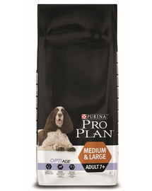 PURINA PRO PLAN Medium & Large Adult 7+ mit OPTIAGE Reich an Huhn 14kg