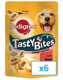 PEDIGREE Tasty Bites Chewy Slices 6x 155g