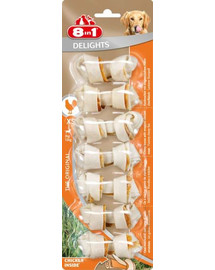 8in1 Delights Kauknochen XS 7 Pack