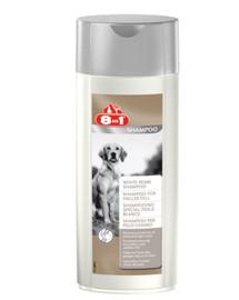 8in1 Shampoo für helles Fell 250 ml