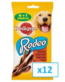 PEDIGREE Rodeo mit Rind 122 g x12