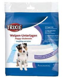 TRIXIE Welpen-Unterlage Nappy-Stubenrein mit Lavendelduft  40 × 60 cm, 7 ks