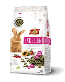 VITAPOL Excellent Komplettfutter für Kaninchen 500g
