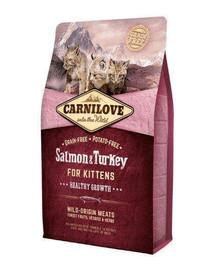 CARNILOVE Salmon & Turkey Kitten 2 kg