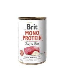 BRIT Brit mono protein beef & rice 400g