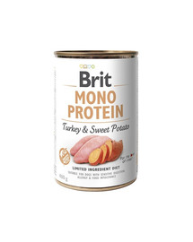 BRIT Mono protein turkey & sweet potato 400g