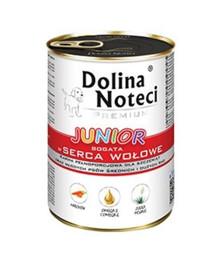 DOLINA NOTECI Premium Junior reich an Rinderherzen 400 g