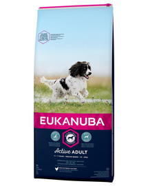EUKANUBA Active Adult Medium Breed18 kg