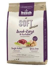 BOSCH SOFT Senior Land-Ziege & Kartoffel 12.5 kg