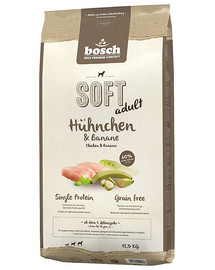 BOSCH SOFT ADULT Hühnchen & Banane 12.5 kg