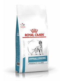 ROYAL CANIN HYPOALLERGENIC MODERATE CALORIE CANINE 7 kg