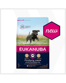 EUKANUBA Developing Junior Large Breed Chicken 3kg