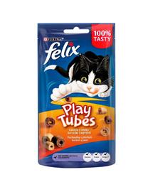 FELIX Play Tubes Huhn- und Lebergeschmack 50 g