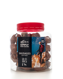 SIMPLY FROM NATURE Sausages with deer Würste mit Hirsch 300 g