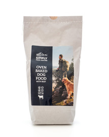 SIMPLY FROM NATURE Oven Baked Dog Food with beef Oven Baked Dog Food mit Rind 1,2 kg