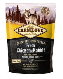 CARNILOVE Katze Fresh Chicken & Rabbit 1,5 kg