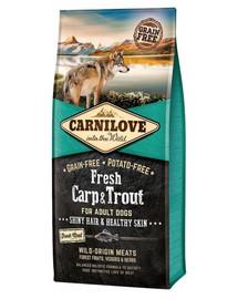 CARNILOVE Adult Fresh Carp & Trout 12 kg