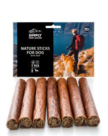 SIMPLY FROM NATURE Nature Sticks with deer Nature Sticks mit Hirsch 7 St