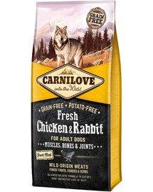 CARNILOVE Adult fresh Chicken & Rabbit 12 kg