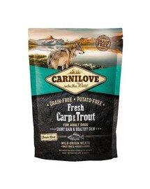 CARNILOVE Adult Fresh Carp & Trout 1,5 kg
