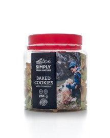 SIMPLY FROM NATURE Baked Cookies with turmeric gebackene Kekse mit Kurkuma 250 g