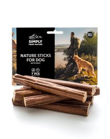 SIMPLY FROM NATURE Nature Sticks with beef Nature Sticks mit Rind 7 szt.
