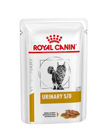 ROYAL CANIN Veterinary Diet Feline URINARY S/O 12 x 85 g