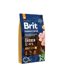 BRIT Premium By Nature Adult Medium M 8 kg