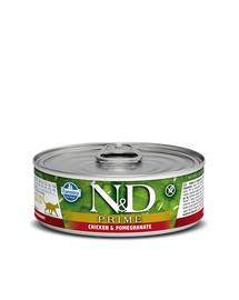 FARMINA N&D PRIME Chicken & Pomegranate Adult Cat 80 g