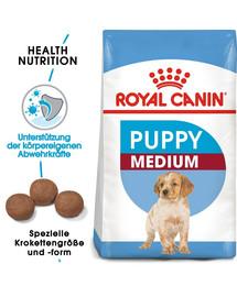 ROYAL CANIN MEDIUM Puppy Welpenfutter trocken für mittelgroße Hunde 15 kg