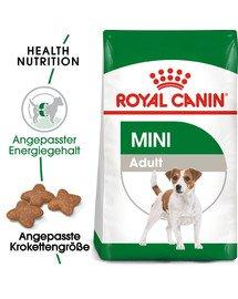ROYAL CANIN MINI Adult Trockenfutter für kleine Hunde 8 kg