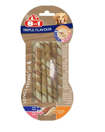 8IN1 Triple Flavour Twisted Sticks 10 Pack