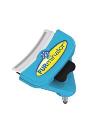 FURMINATOR FURflex, Fellpflegebürste für mittelgroße Hunde, deShedding-Aufsatz zur Entfernung der Unterwolle, Größe M
